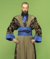 Японский мужской костюм самурая № 2
