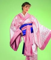 moskostumer.ru розовое женское японское кимоно в прокат