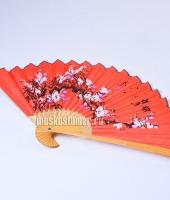 Веер японский красный в прокат