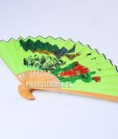 Веер японский зеленый в прокат