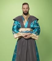 Японский мужской костюм самурая № 4
