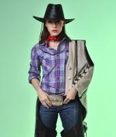 Ковбойский костюм для девушки №1