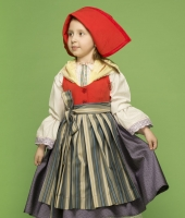 Little Red Cap costume for girl for rent