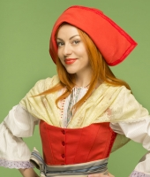 Women Little Red Cap costume for rent