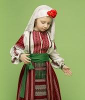 Молдавский национальный костюм для девочки