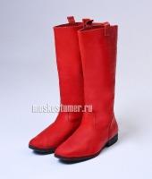 Сапоги мужские красные в прокат. 4 пары размера 42 и 5 пар размера 44.