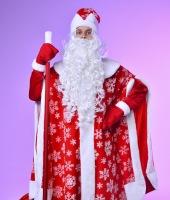 Костюм Деда Мороза в прокат. Таких костюмов у нас 3 одинаковых.