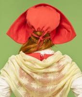 Костюм Красной шапочки для девушки. Таких костюмов у нас 2 одинаковых.