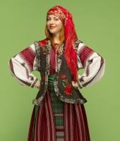 Румынский женский национальный костюм