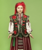 Romanian National Costume for rent for a girl