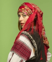 Women Romanian National Costume for rent