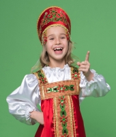 Русские народные костюмы для детей.