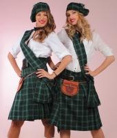 Шотландские национальные зеленые килты