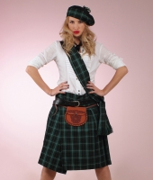 Шотландский национальный зеленый костюм