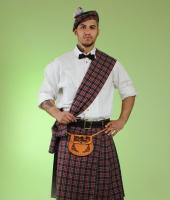 Шотландский национальный синий костюм