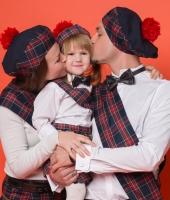 Шотландские национальные костюмы для всей семьи