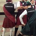 Шотландцы в московском метро