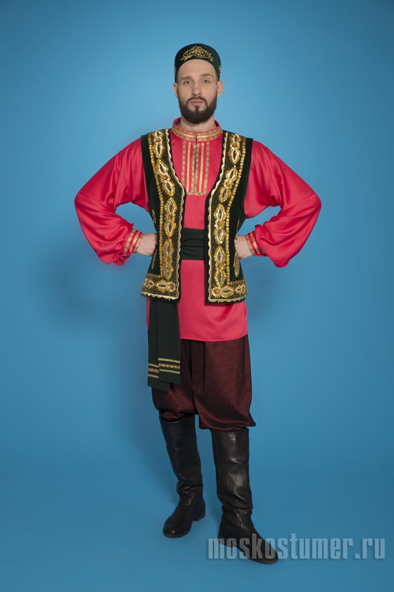 Картинка мужского костюма татар