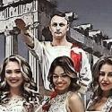 Шоу «Спарта» в греческих костюмах