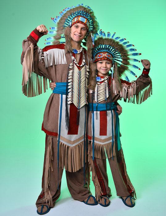 Индейские костюмы в прокат