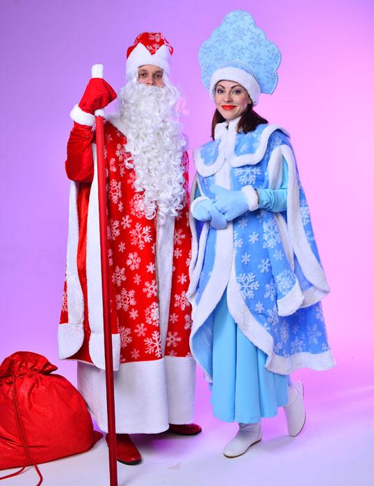 Костюмы Деда Мороза и Снегурочки в прокат