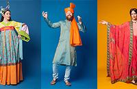 Индийские и китайские костюмы