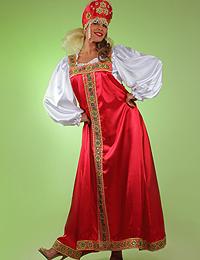 Прокат русских народных костюмов