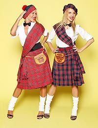 Прокат шотландских килтов